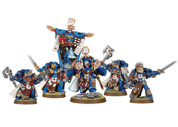 Marneus Calgar Armadura de Antilochus Guardia de Honor