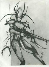Eldar oscuro guerrero