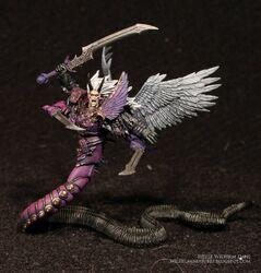 Miniatura fulgrim principe demonio