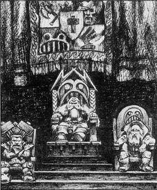 Señor Caudillo Señor Ancestro Squats 1ª Edición Paul Bonner ilustración