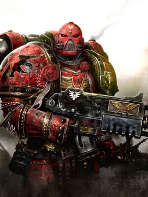 Ángel Sangriento Táctico Warhammer 40k wikihammer