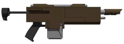 Carabina láser ''Disuasora'' Hellhest M39