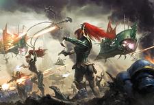 Eldars Oscuros Portada Warhammer 40,000 Conquest