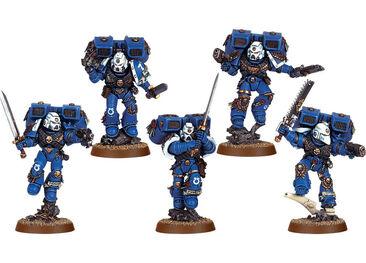 Escuadra veteranos de vanguardia