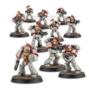 Escuadra Táctica Veterana Mk. IV Maximus Legión Cicatrices Blancas