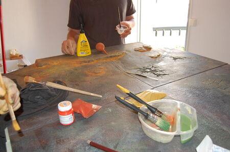 Pintura tablero modular 13