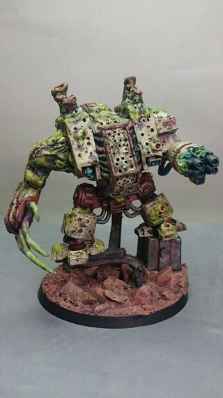 Dreadnough Nurgle 40k 2 propainted