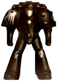 Esquema Guardia del Cuervo Servoarmadura Mk. VI Corvus