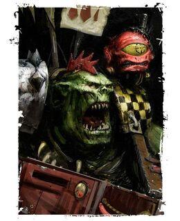 Orkos komando con garrapato de punteria