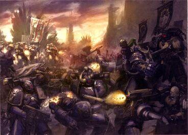 Caos legion alfa vs guardia del cuervo toma de mankarra