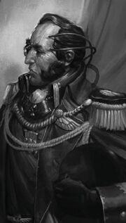 Comandante General Ebongrave Cruzada Achilus Saliente Canis Wikihammer