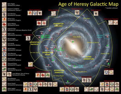 Mapa age of heresy