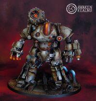 Miniatura mechanicus legio cibernetica thanatar