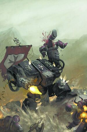 Templarios Negros Tankred Dreadnought Warhammer 40K Wikihammer