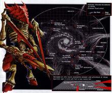 Mapa galaxia incursiones Tiranidas