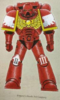 Marines esquema halcones del emperador