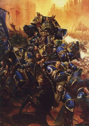 Ultramarines Batalla Macragge