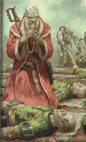 Eclesiarquia predicador pregaria por los caidos guardia imperial