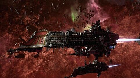 Flota crucero imperial espacio