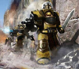 Marines puños imperiales exterminadores preherejia