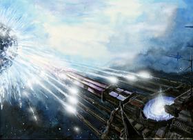 Caos nave asesina de planetas