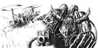 Dregmek Blitzkart y el Machakador