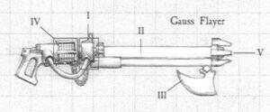 Esquema Rifle Gauss Necrones Armamento Wikihammer