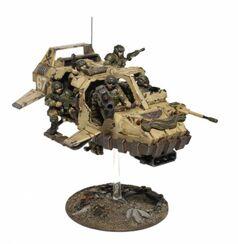 Mini Guardia imperial land Speeder