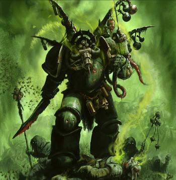 Putrefactor Biologus Guardia de la Muerte 8ª Edición ilustración