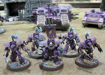 Escuadra exterminadores hijos del emperador