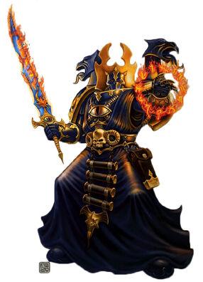 Mil Hijos Hechicero Warhammer 40k Wikihammer Chaos Sorcerer