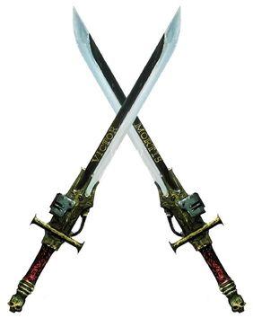 Arma espadas nemesis