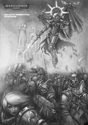 Sororita santa celestine cruzada palatina