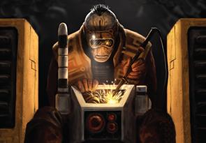 Técnico Casta de la Tierra Tau Warhammer Conquest color