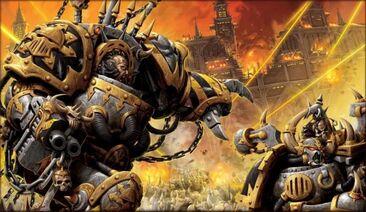 Caos Guerreros de hierro