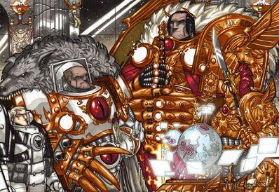 Emperador horus planificacion gran cruzada