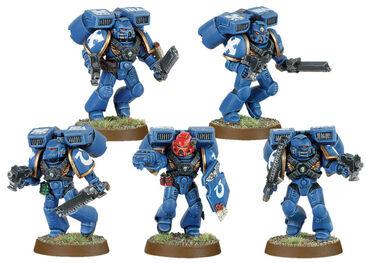 Escuadra de asalto ultramarines