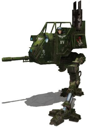 Guardia imperial sentinel soldado cadia