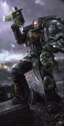 Guardianes de la Muerte Bolter Orko Decapitado Ordo Xenos Wikihammer