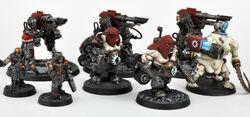 Miniaturas tropas del mechanicum wikihammer