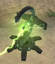 Pilon Necron Disparo Aniquilador Gauss Dawn Of War Wikihammer