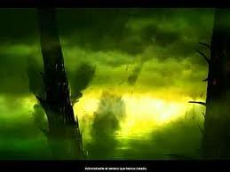 Tiranidos planeta cubierto gas esporas