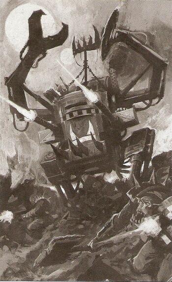 Dreadnought Orkos 4ª Edición ilustración