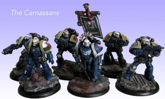 Escuadra Táctica Veterana Ultramarines Mk. IV Maximus Truescale