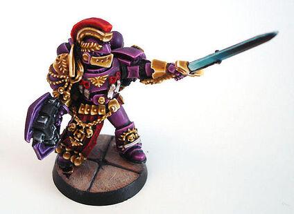 Capitán Hijos Emperador Herejía Warhammer 40k wikihammer