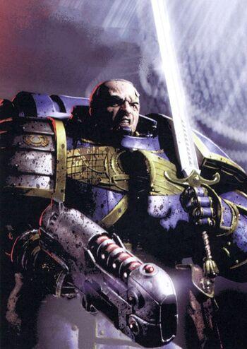 Marius Gage Primer Señor de los Ultramarines tras Calth