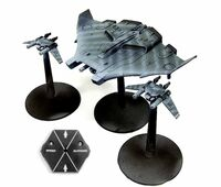 Tiger Shark AX-2-2 T'au FW Epic miniatura