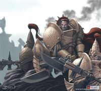 Adeptus custodes lanzas