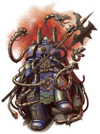 Caos herrero de disformidad legion alfa