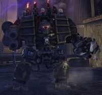 Chaos Dreadnought Caos Warhammer 40k wikihammer